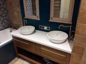 Столешницы и раковины для ванной
